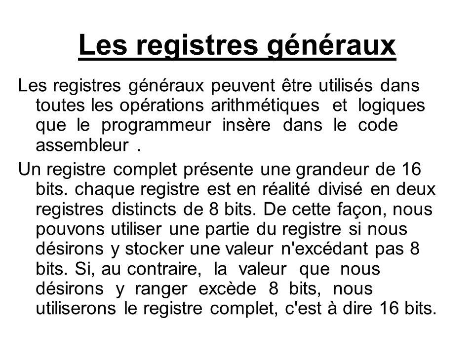 Les registres généraux