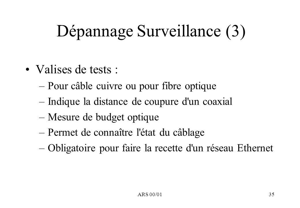 Dépannage Surveillance (3)