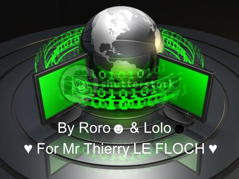 ♥ For Mr Thierry LE FLOCH ♥
