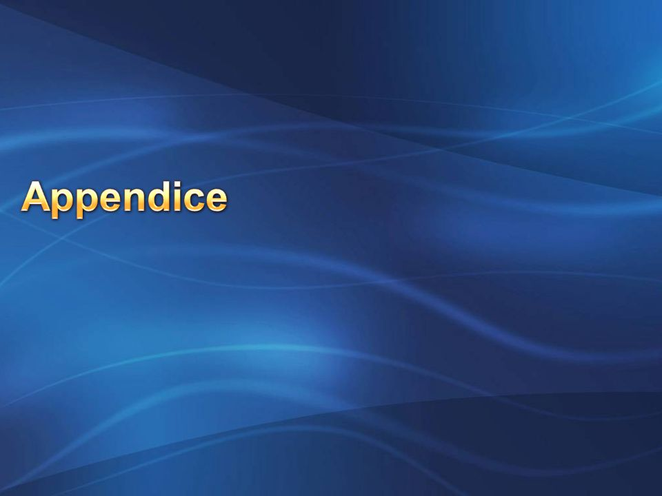Appendice INF210