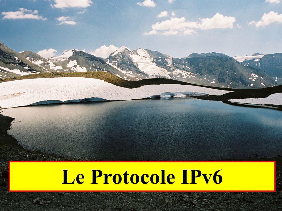 Le Protocole IPv6 Yonel GRUSSON