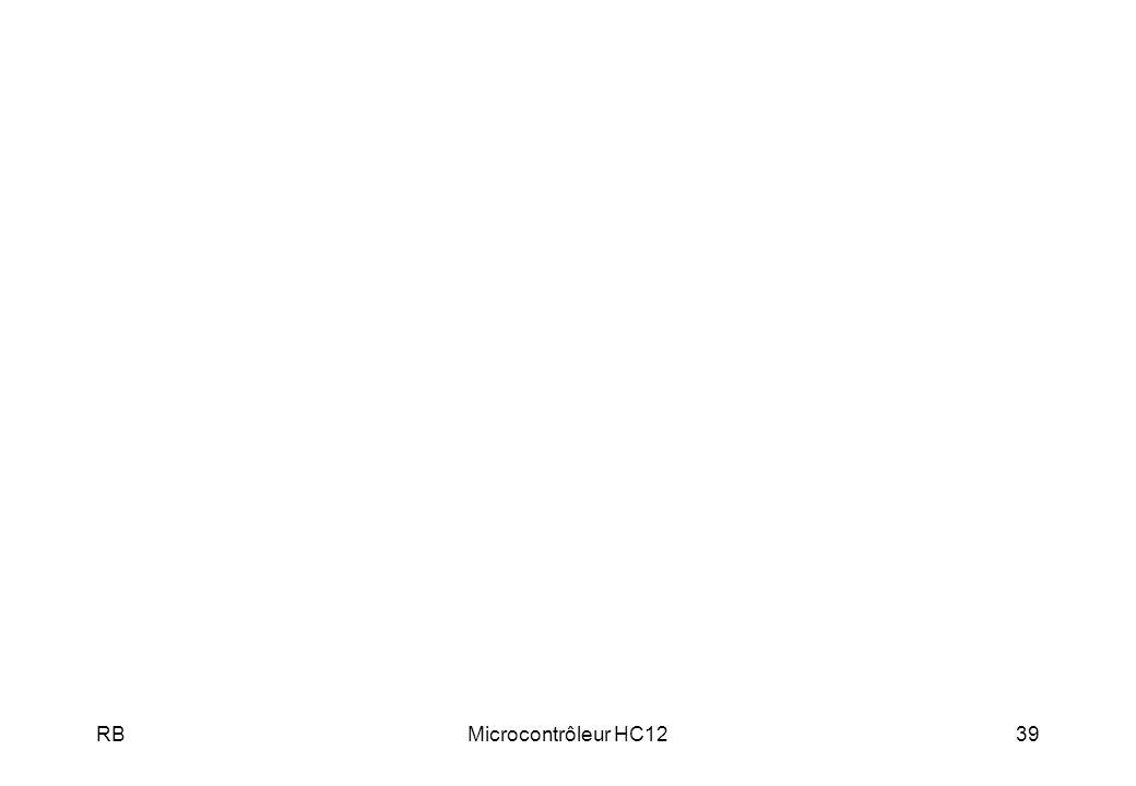 RB Microcontrôleur HC12