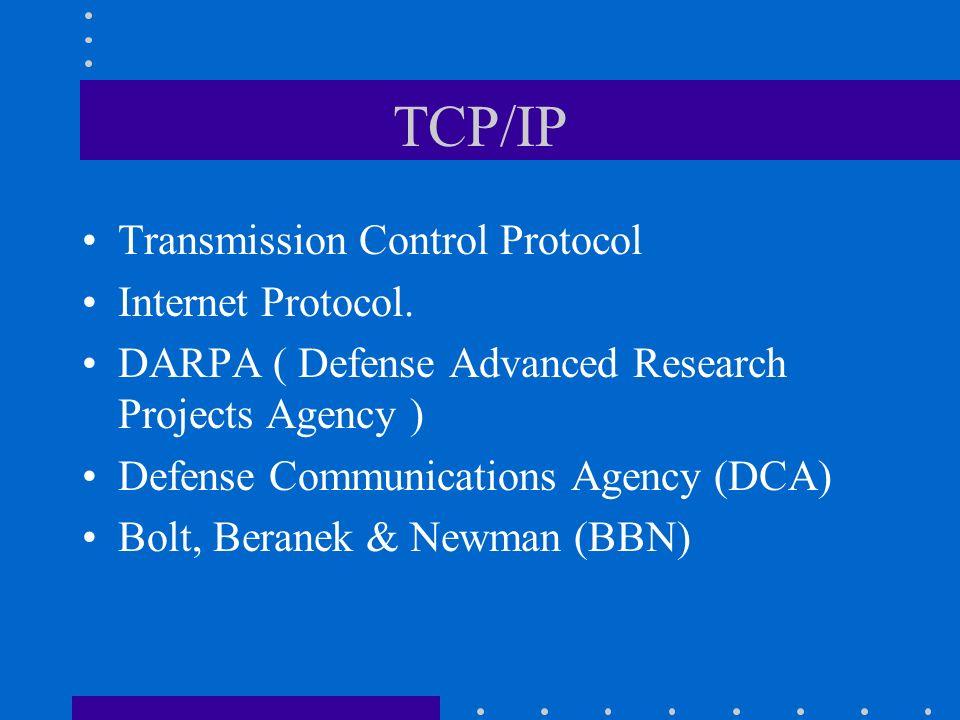 TCP/IP Transmission Control Protocol Internet Protocol.