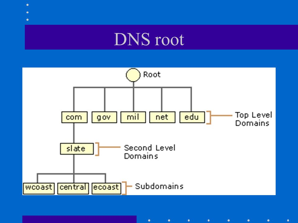 DNS root
