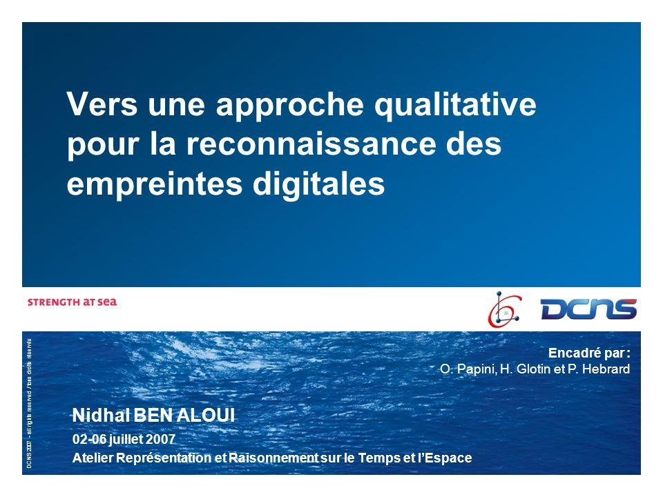 Vers une approche qualitative pour la reconnaissance des empreintes digitales