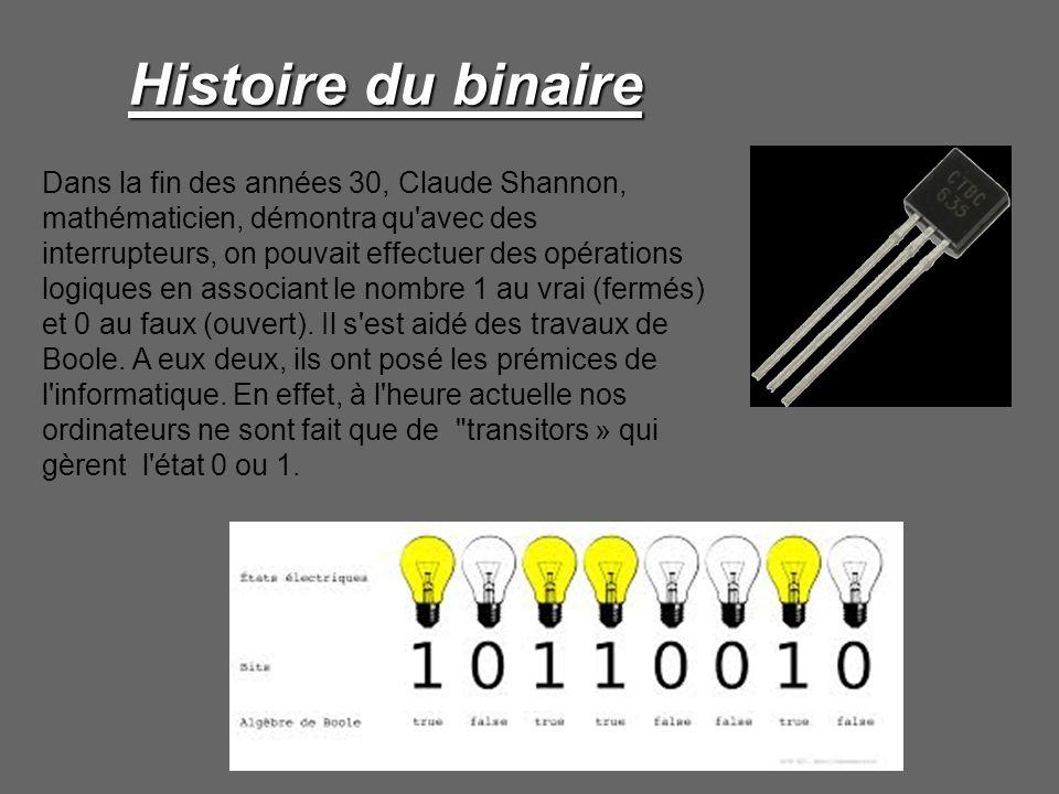 Histoire du binaire