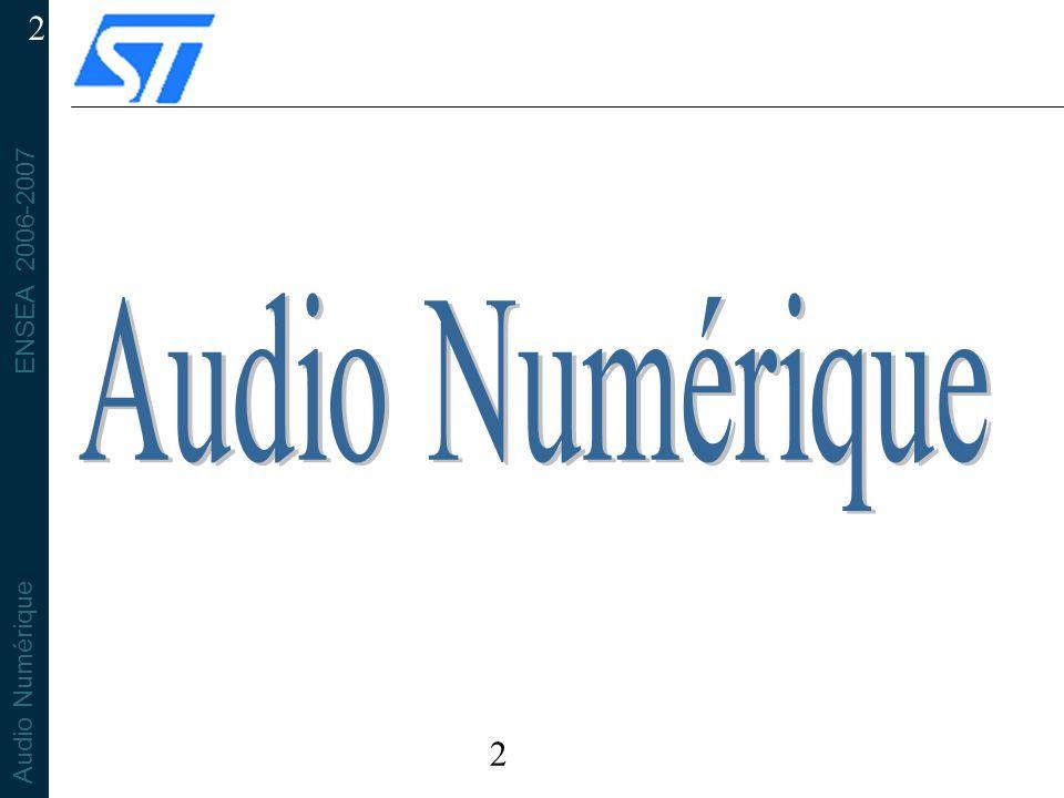 Audio Numérique 2