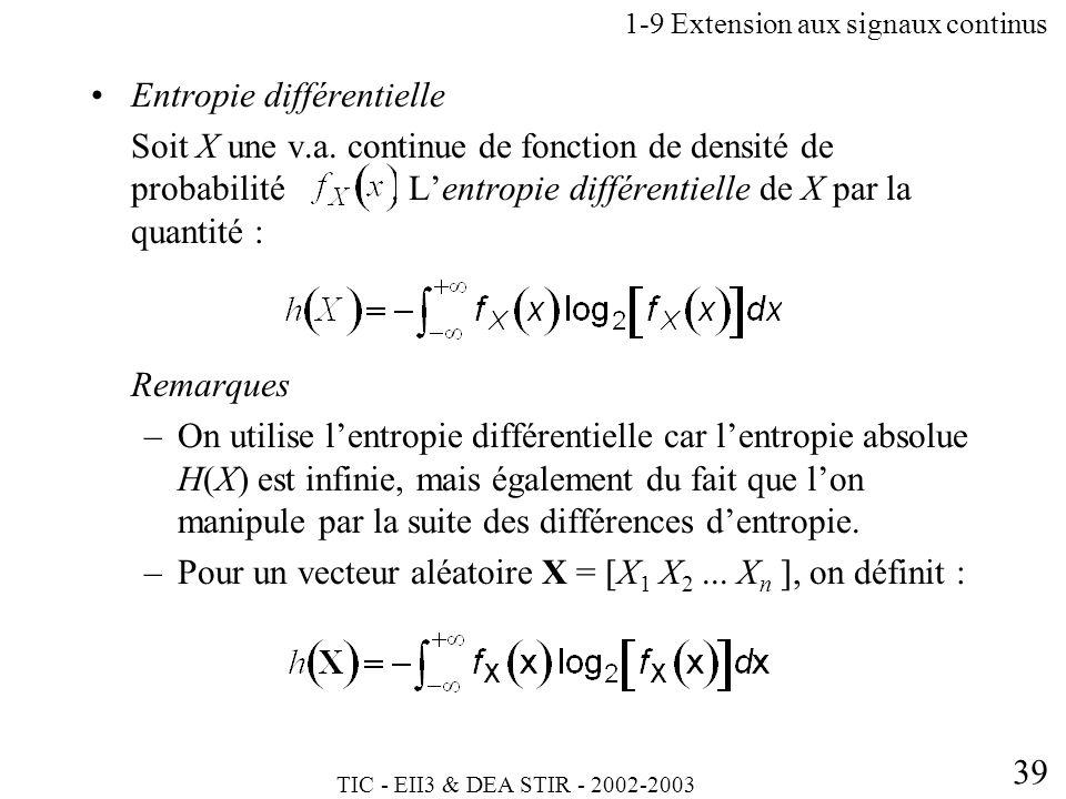 1-9 Extension aux signaux continus