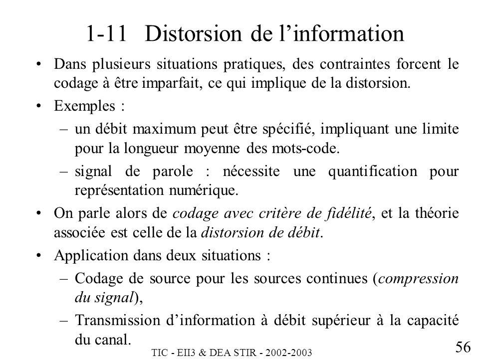 1-11 Distorsion de l'information