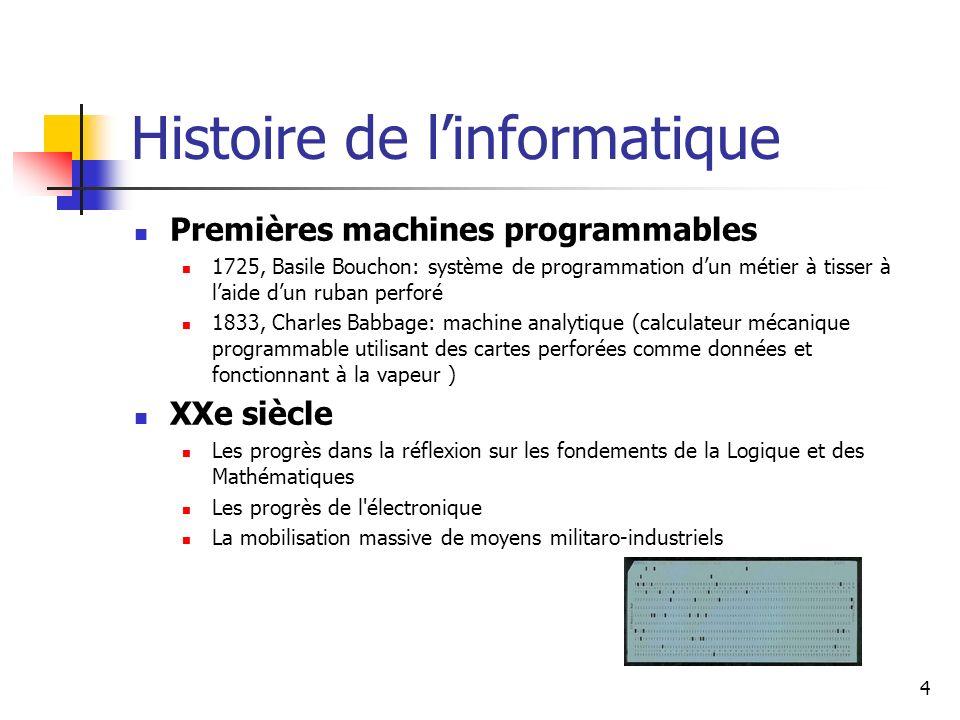 Histoire de l'informatique