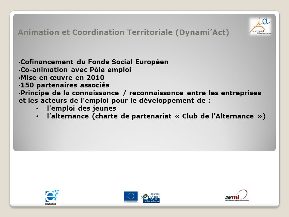 Animation et Coordination Territoriale (Dynami'Act)