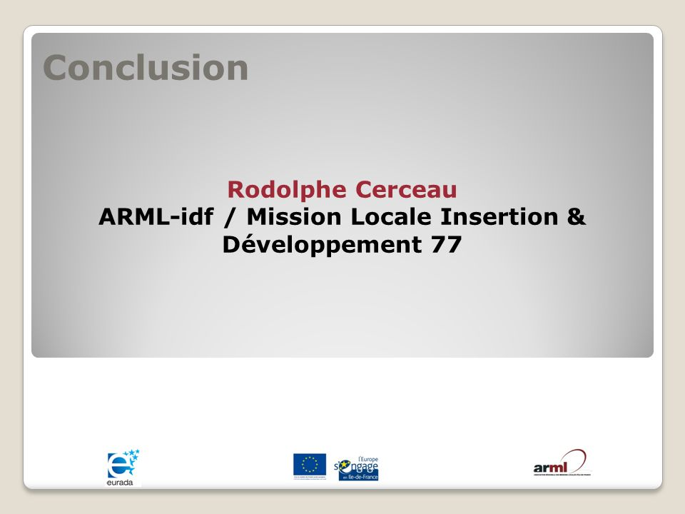 ARML-idf / Mission Locale Insertion & Développement 77