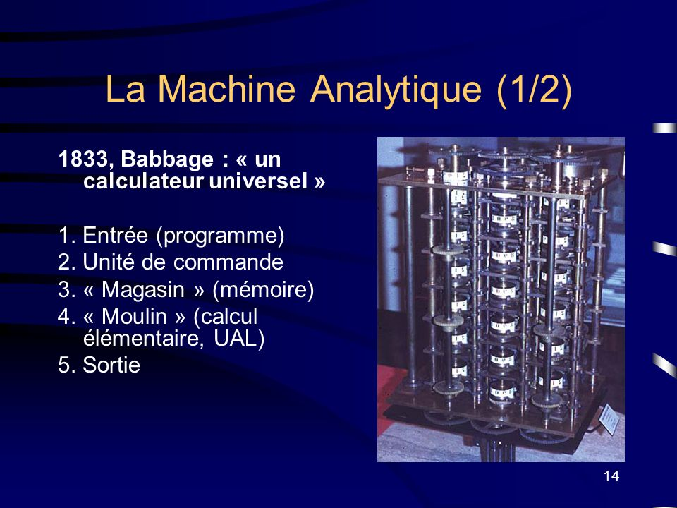 La Machine Analytique (1/2)