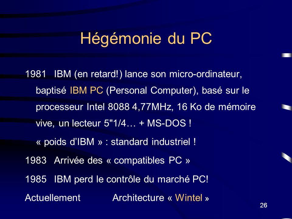 Hégémonie du PC