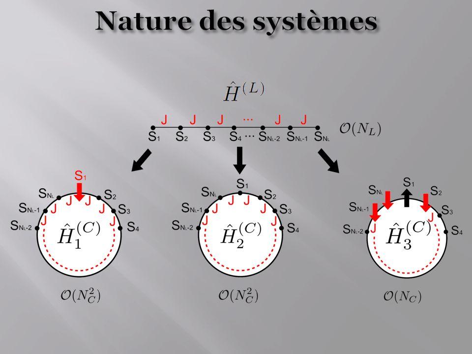 Nature des systèmes