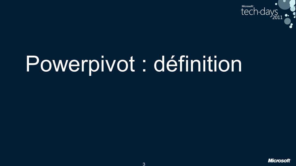 Powerpivot : définition