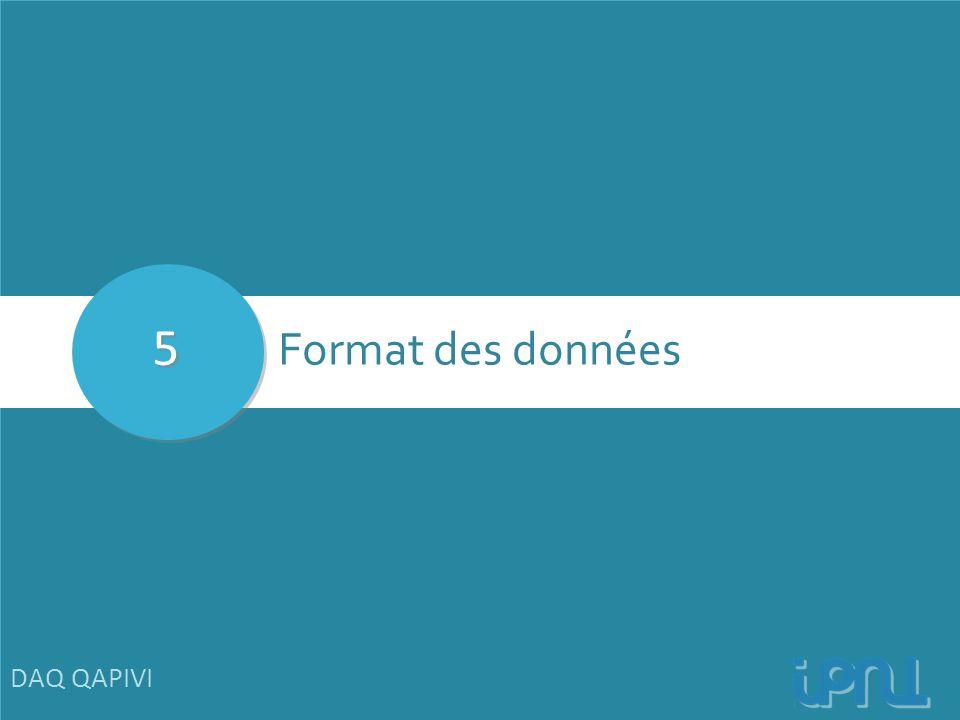 5 Format des données DAQ QAPIVI 21