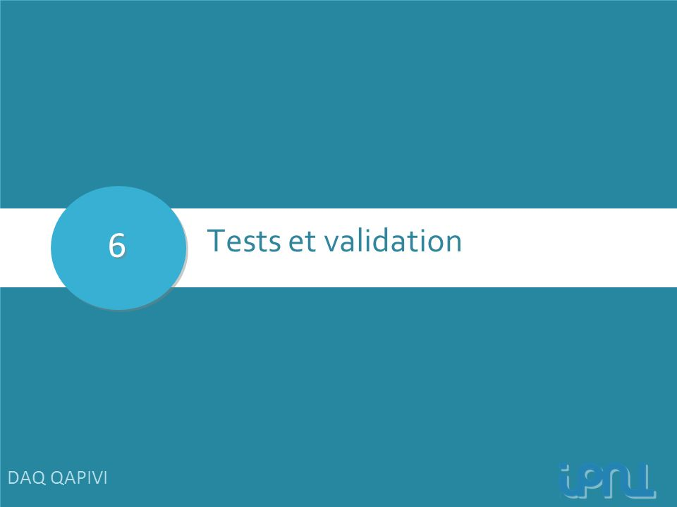 6 Tests et validation DAQ QAPIVI 28