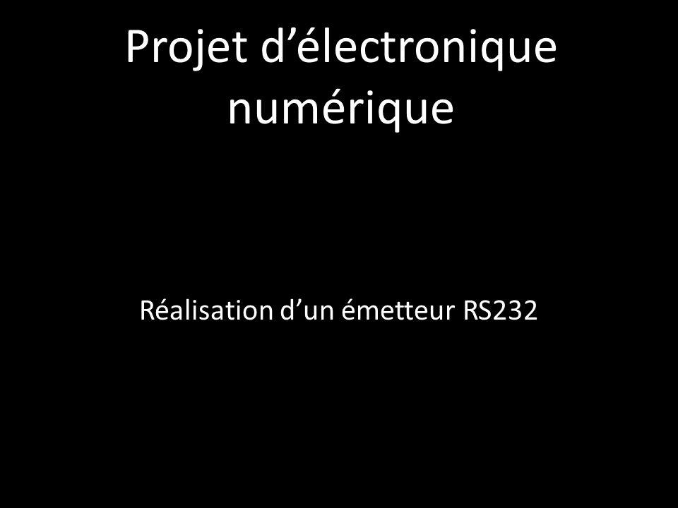 Projet d'électronique numérique