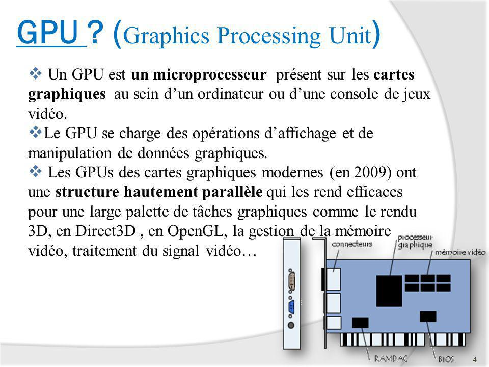 GPU (Graphics Processing Unit)