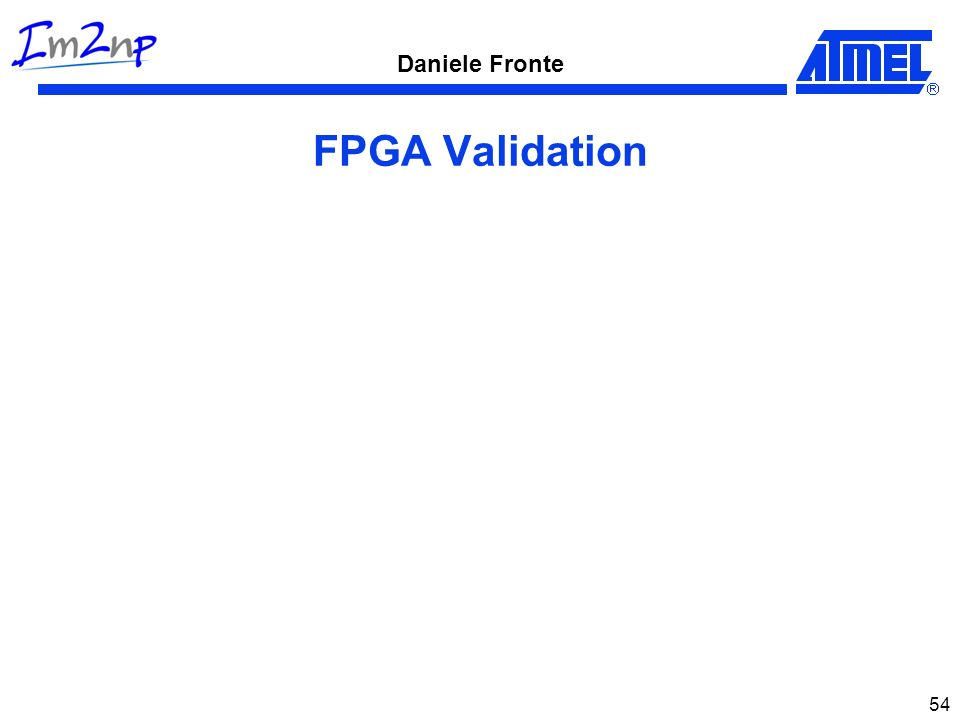 FPGA Validation