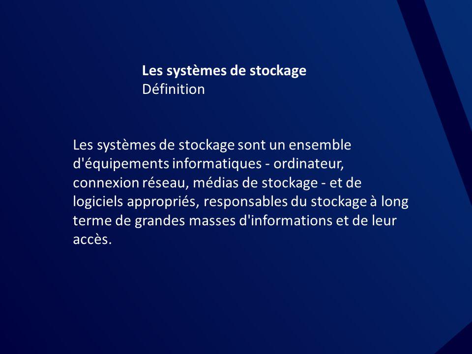 Les systèmes de stockage