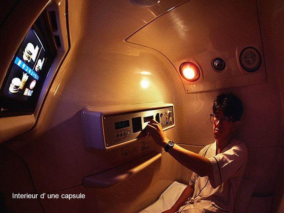 Interieur d' une capsule
