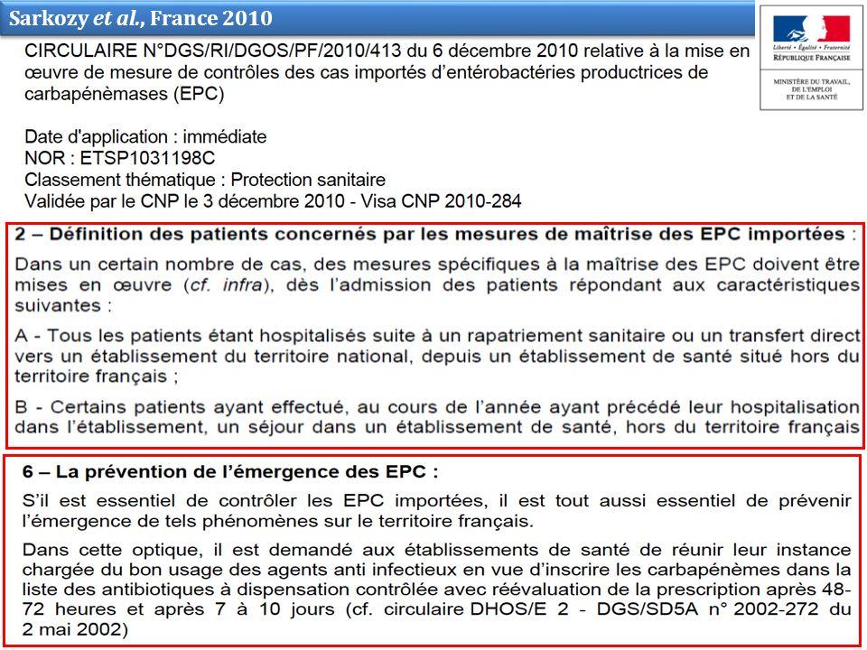 Sarkozy et al., France 2010