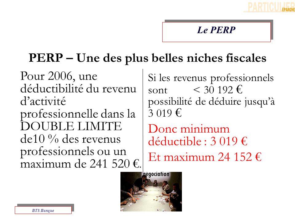 PERP – Une des plus belles niches fiscales