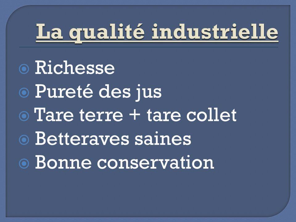 La qualité industrielle