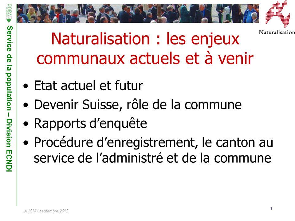 Naturalisation : les enjeux communaux actuels et à venir