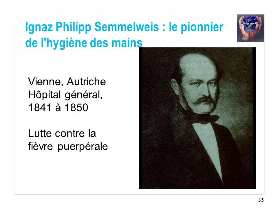 Ignaz Philipp Semmelweis : le pionnier de l hygiène des mains