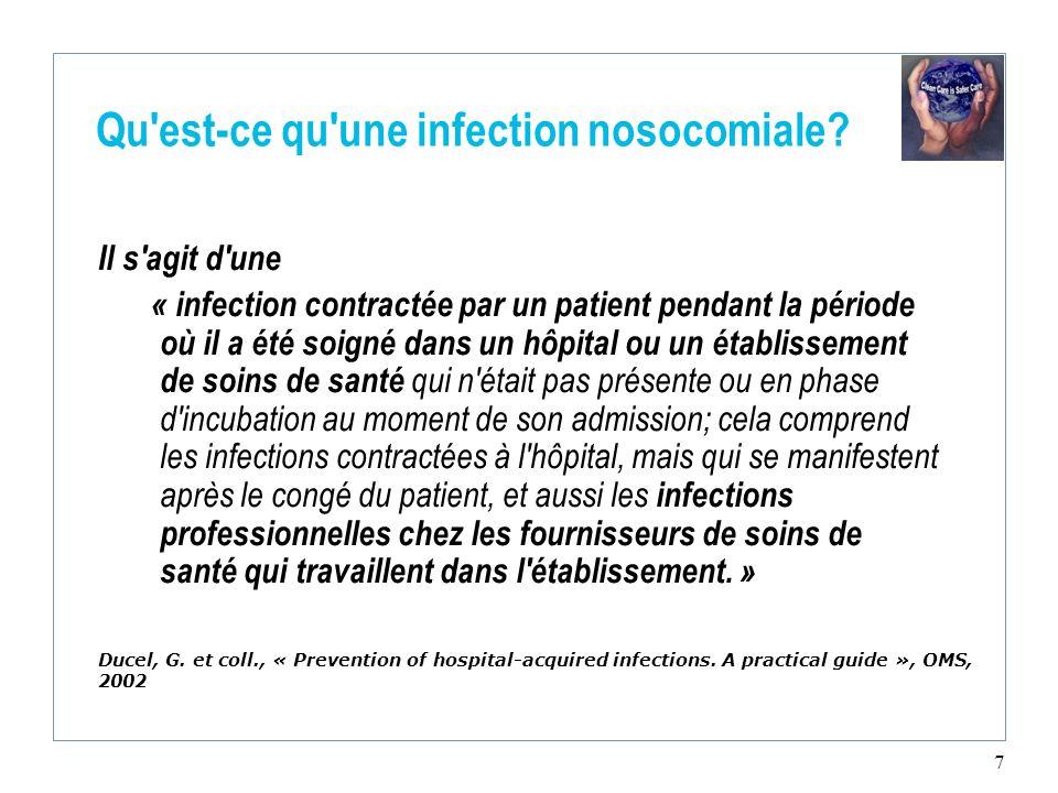Qu est-ce qu une infection nosocomiale
