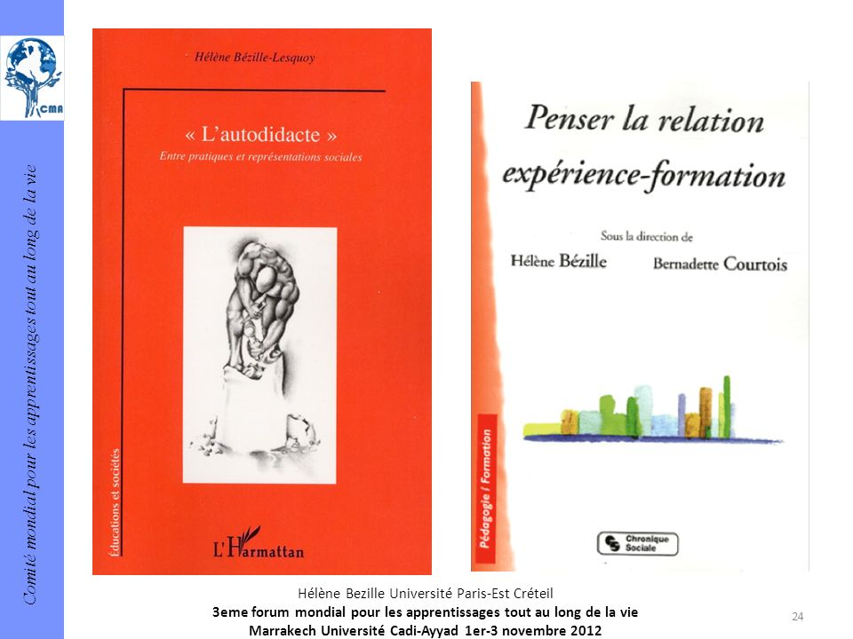 Hélène Bezille Université Paris-Est Créteil