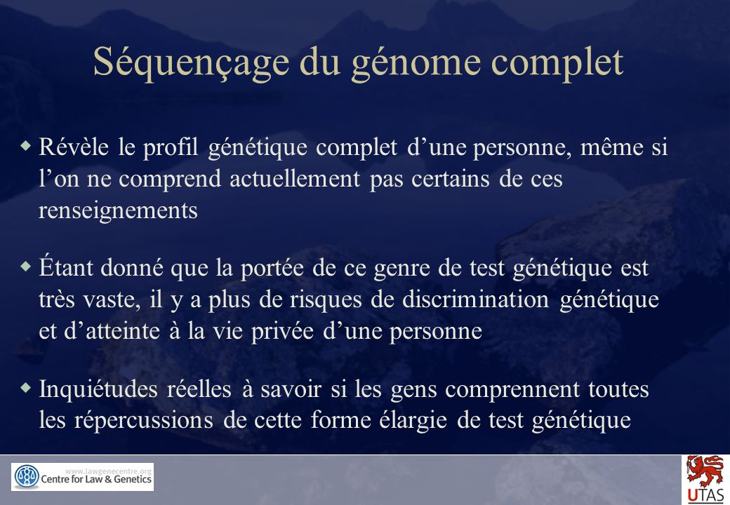 Séquençage du génome complet