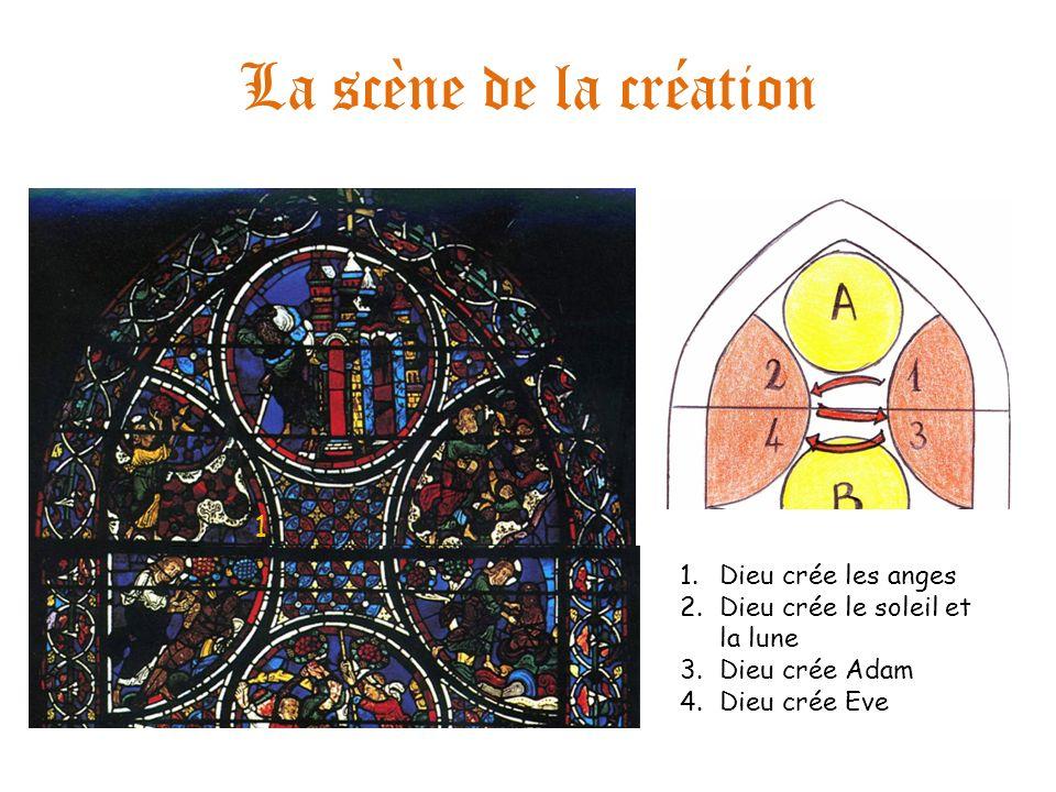 La scène de la création 1 Dieu crée les anges