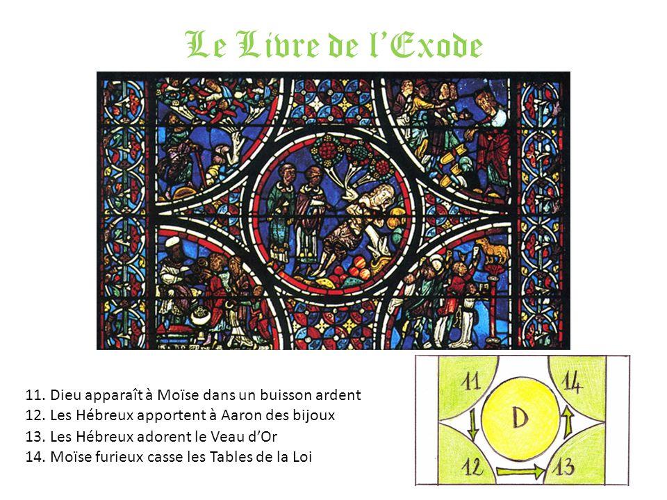 Le Livre de l'Exode 11. Dieu apparaît à Moïse dans un buisson ardent
