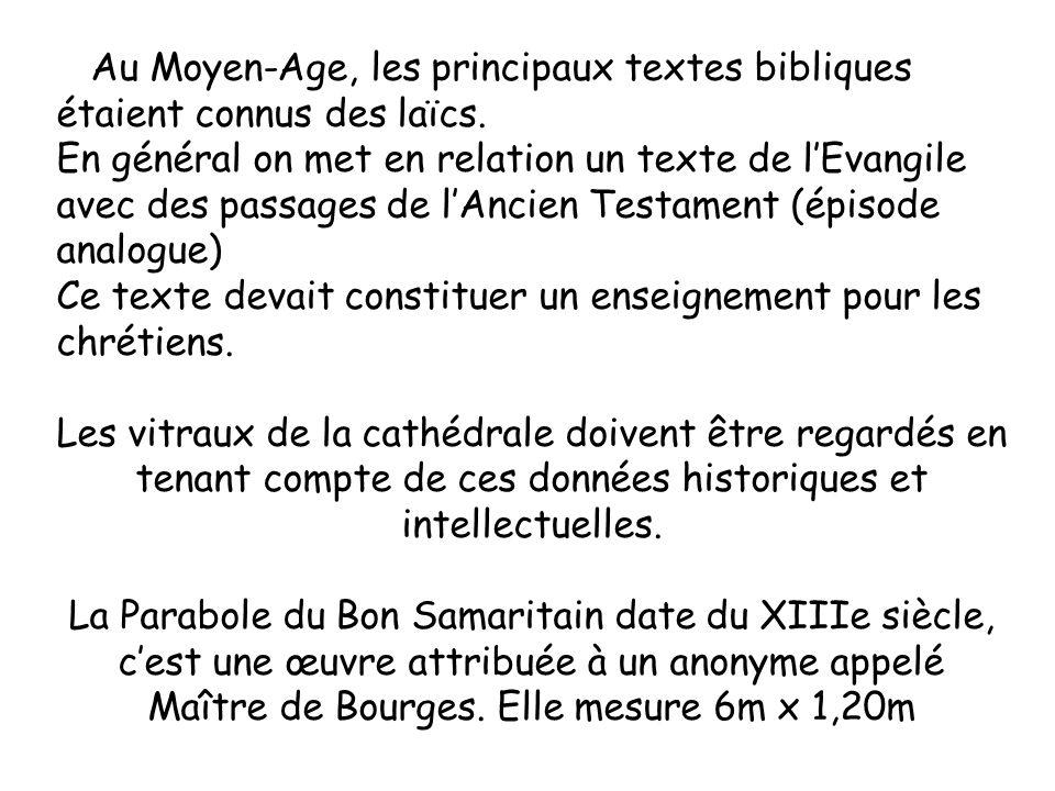 Au Moyen-Age, les principaux textes bibliques étaient connus des laïcs.