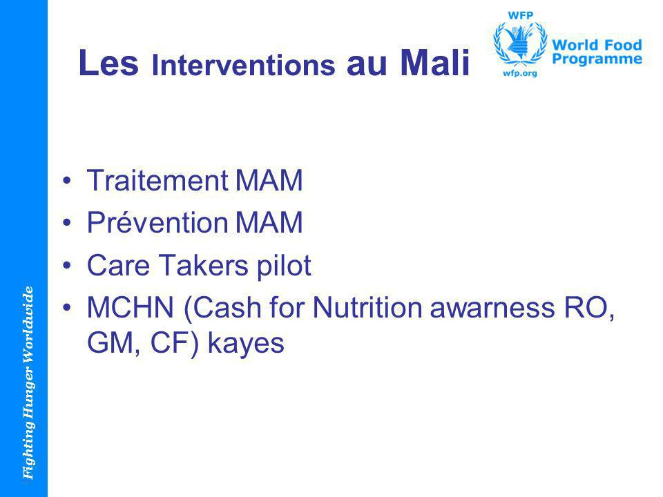 Les Interventions au Mali