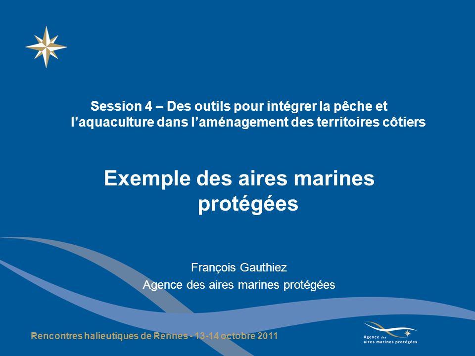 Exemple des aires marines protégées