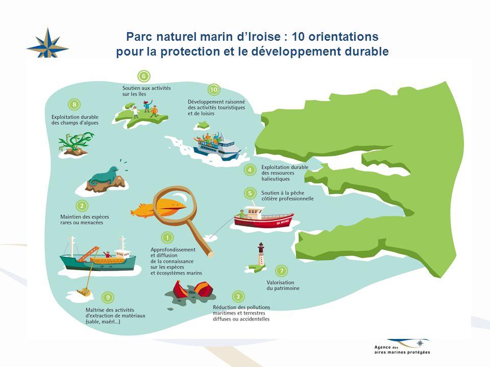 Parc naturel marin d'Iroise : 10 orientations