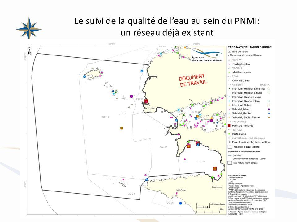 Le suivi de la qualité de l'eau au sein du PNMI: