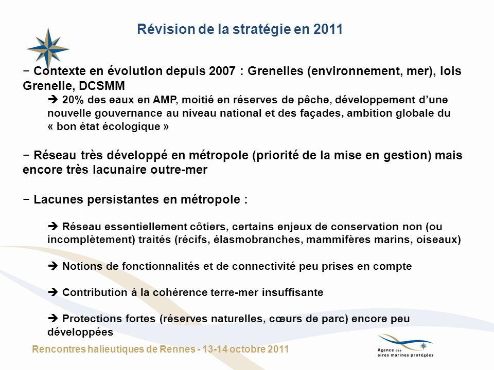 Révision de la stratégie en 2011