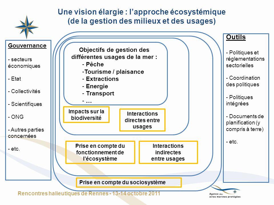 Une vision élargie : l'approche écosystémique
