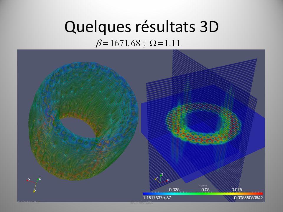 Quelques résultats 3D ----- Notes de la réunion (10/12/2013 07:58) ----- merci.