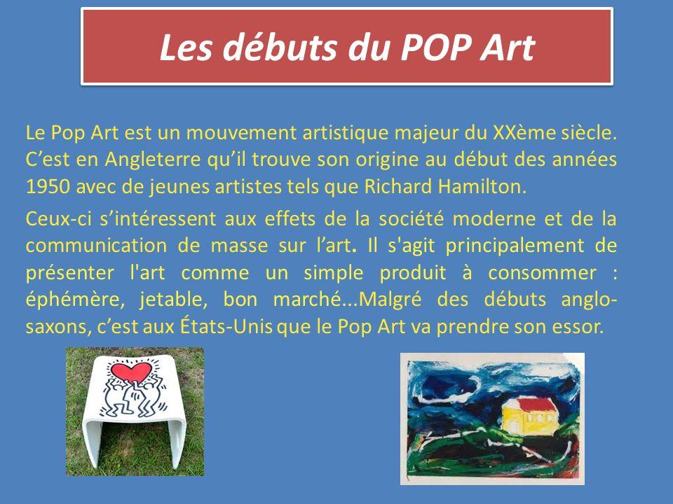 Les débuts du POP Art