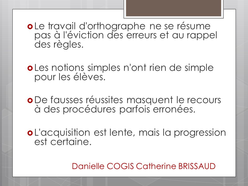 Danielle COGIS Catherine BRISSAUD