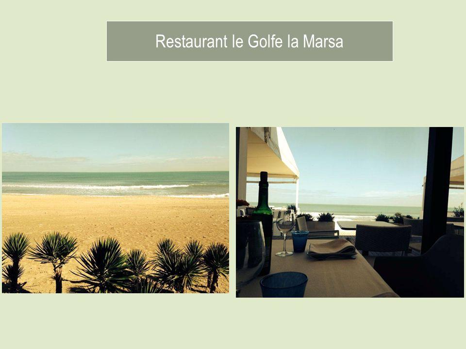 Restaurant le Golfe la Marsa