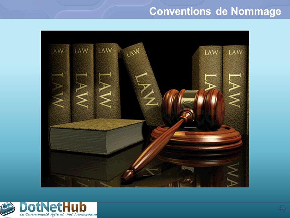 Conventions de Nommage