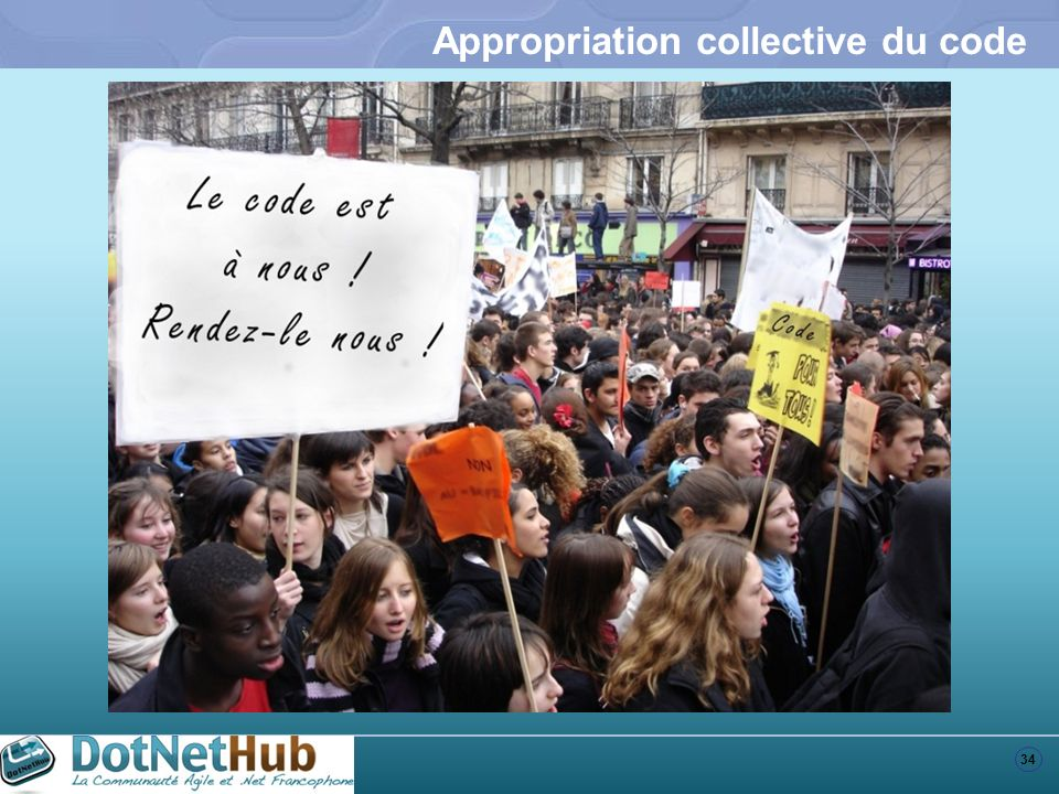 Appropriation collective du code